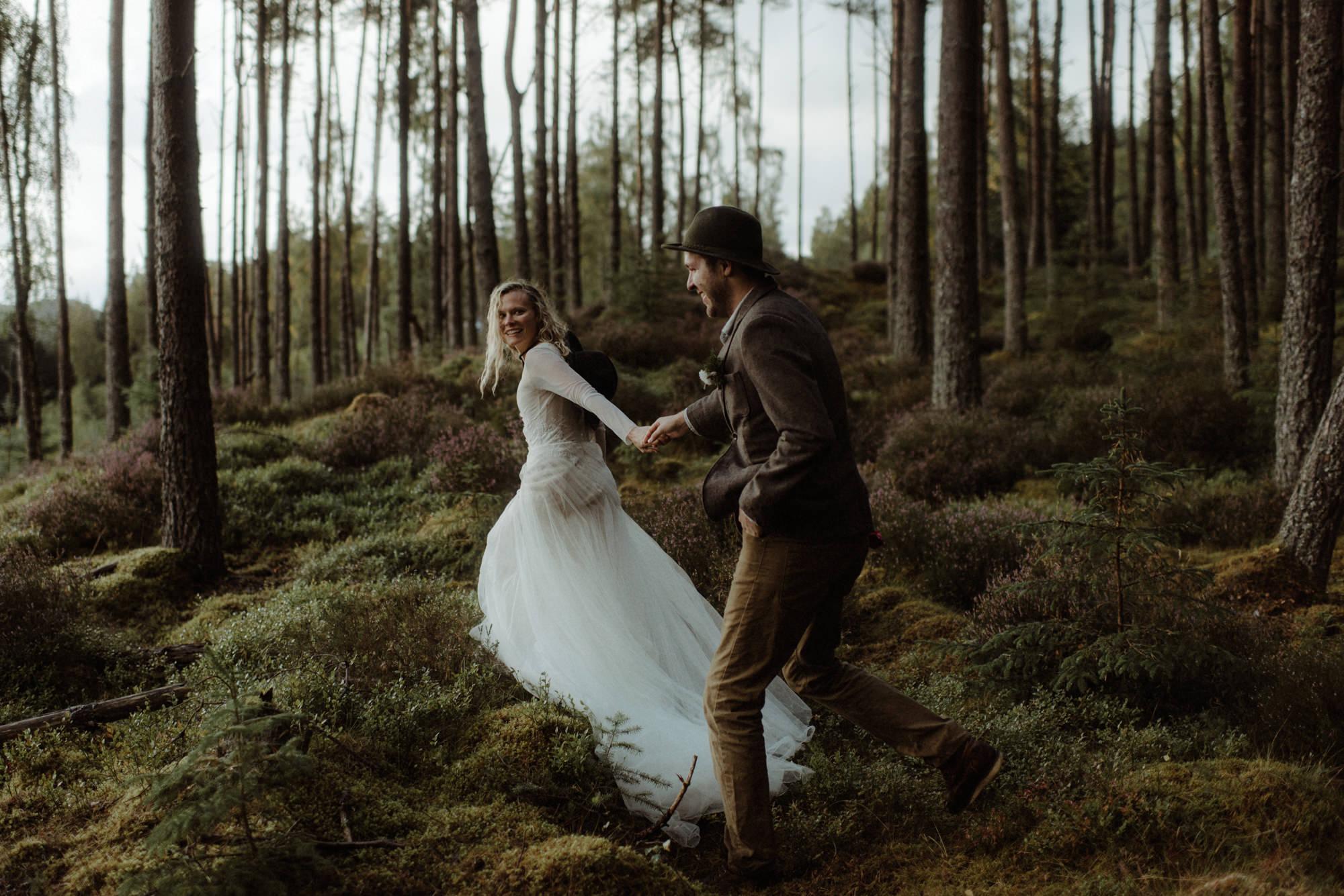 loch an eilein wedding photographer 9