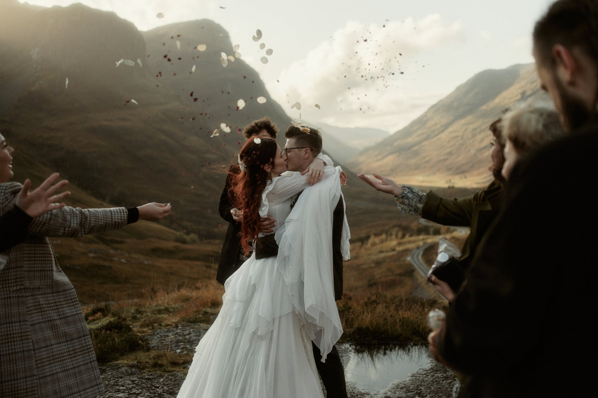 glencoe elopement photography 2229