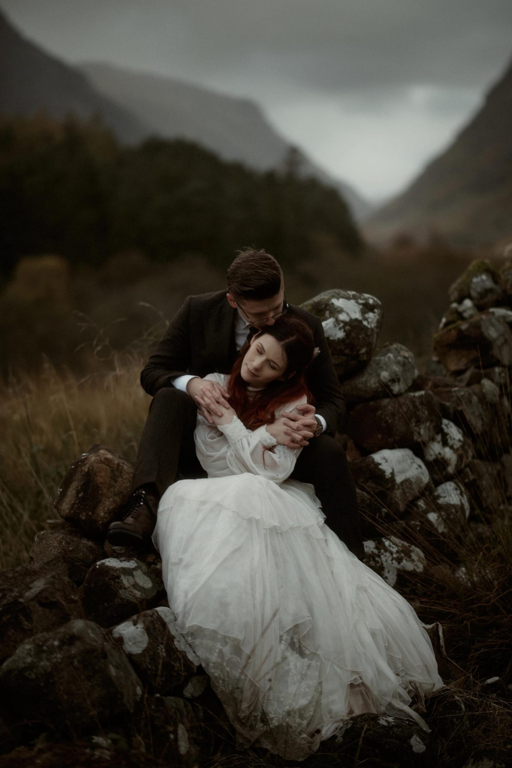 glencoe elopement wedding