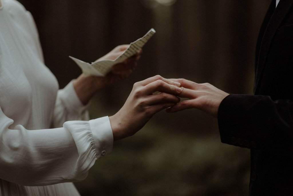 couple eloping in scotland