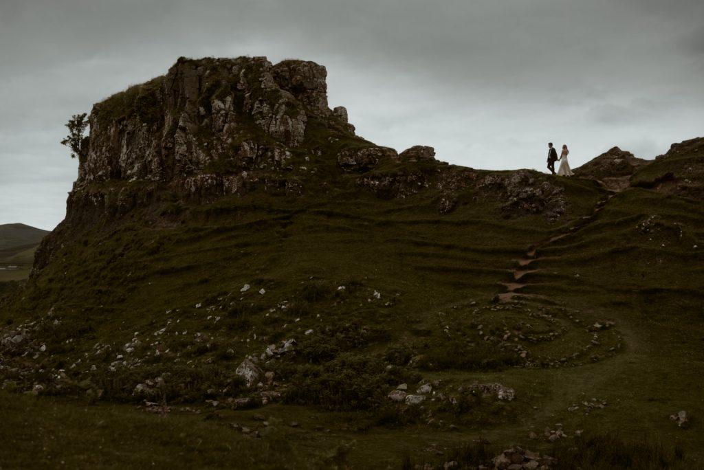 fairy glen castle skye